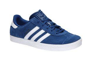 adidas Gazelle 2 Sneaker Kinder Turnschuhe Blau Schuhe