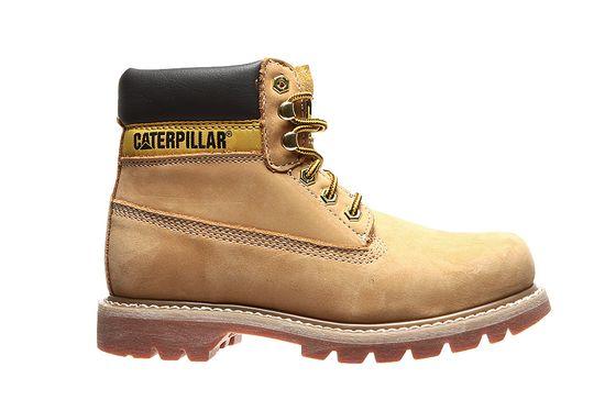 Caterpillar Echtleder Stiefel Colorado W Boots Beige