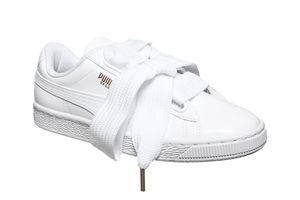 PUMA Sneaker Basket Heart Patent Wn´s Turnschuhe Weiß Schuhe