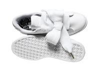 PUMA Sneaker Basket Heart Patent Wn's Turnschuhe Weiß Schuhe – Bild 6
