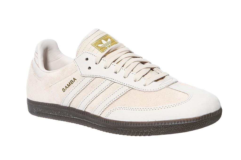 460fc79ec972 adidas Originals Echtleder Sneaker Samba FB Turnschuhe Beige