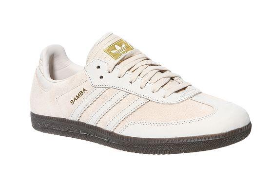 adidas Originals Real Leather Sneaker Samba FB Beige