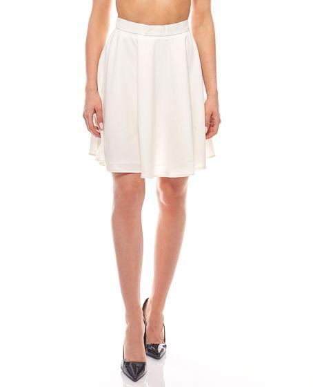 flared mini skirt women white ashley brooke