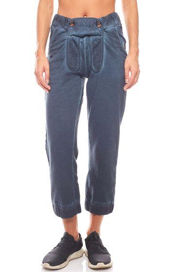 KangaROOS Trachten Jogging Trousers Ladies Trousers Blue
