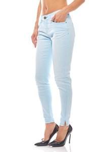 COLORADO DENIM Ankle Jeans Damen Slim Fit Hellblau – Bild 1