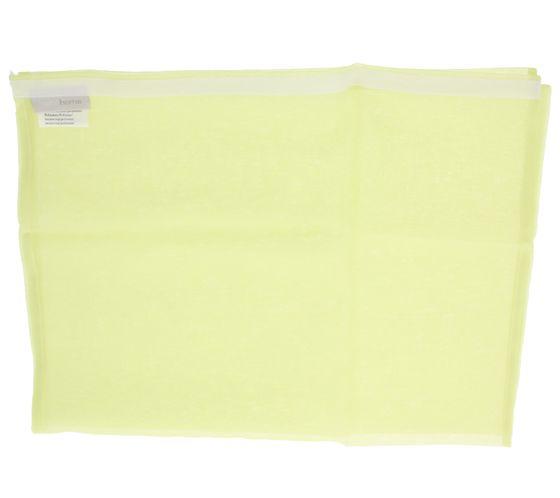 heine home Klettschienen Schiebevorhang Gelb 245x57 cm