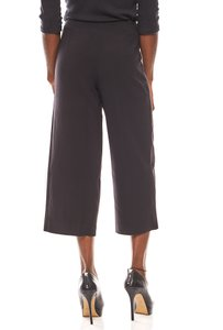 ashley brooke luftige Damen-Culotte Schwarz  – Bild 4