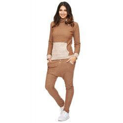 Tazzio Fashion Damen Sportanzug Braun