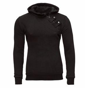 Tazzio Fashion Herren Sweatshirt mit Kapuze Schwarz