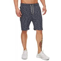Tazzio Fashion Herren Sweat Shorts meliert Navy – Bild 2