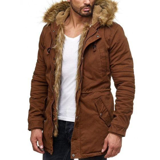 Tazzio Fashion Herren Jacke Camel