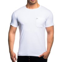 Tazzio Fashion Herren T-Shirt Basic Weiß