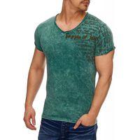 Tazzio Fashion Herren T-Shirt im Vintagelook Petrol