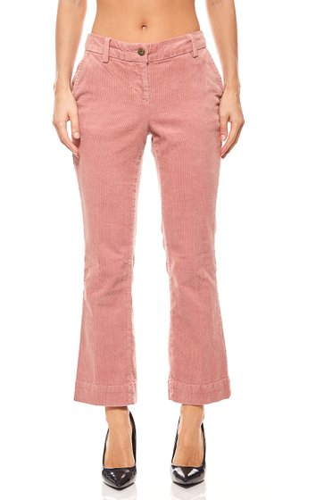 BC Best Connections Flared Corduroy trousers old rose
