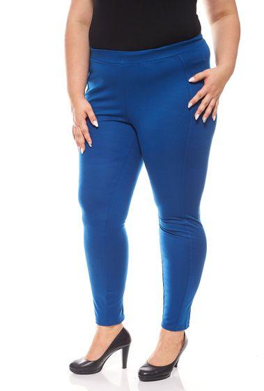 sheego Damen Leggings Sporthose Große Größen Blau