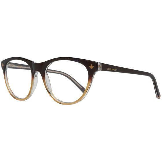 DSQUARED2 Brille Damen Braun Lese-Brillen Brillen-Gestell Brillen-Fassung