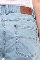 sheego Denim Stretch-Jeans mit Stickerein Kurzgrößen Blau – Bild 3