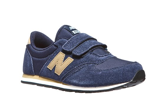 New Balance Hook and Loop 420 Kinder Sneaker Blau