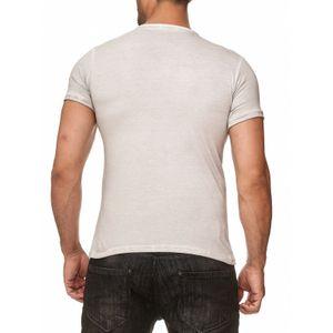 Tazzio Fashion Herren T-Shirts Grau  – Bild 3