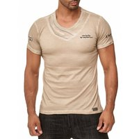 Tazzio Fashion Herren T-Shirts Stein 001