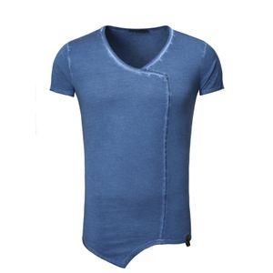 Tazzio Fashion Herren T-Shirts Indigoblau