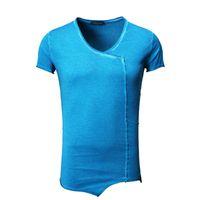 Tazzio Fashion Herren T-Shirts Blau 001
