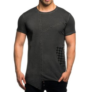 Tazzio Fashion Herren T-Shirts Anthrazit – Bild 1