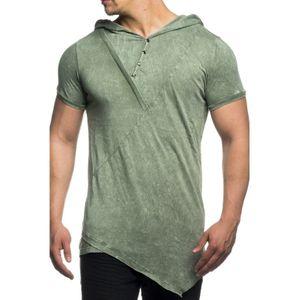 Tazzio Fashion Herren T-Shirts Khaki – Bild 1