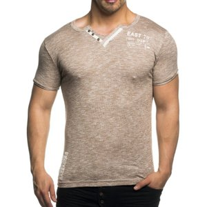 Tazzio Fashion Herren T-Shirts Bison