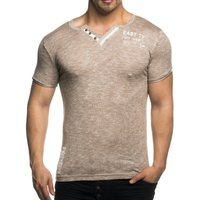 Tazzio Fashion Herren T-Shirts Bison 001