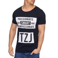 Tazzio Fashion Herren T-Shirts Schwarz