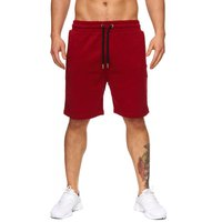 Tazzio Fashion Herren Bermudas & Shorts Bordo 001