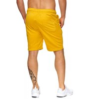 Tazzio Fashion Herren Bermudas & Shorts Mustard-Yellow – Bild 3