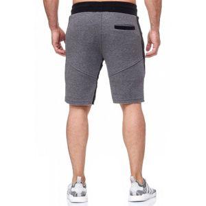 Tazzio Fashion Herren Bermudas & Shorts Anthrazit – Bild 3