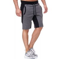Tazzio Fashion Herren Bermudas & Shorts Anthrazit – Bild 2