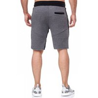 Tazzio Fashion Herren Bermudas & Shorts Anthrazit – Bild 3