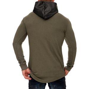 Tazzio Fashion Herren Hoodie Khaki – Bild 3