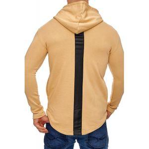 Tazzio Fashion Herren Sweatpullover Beige – Bild 3