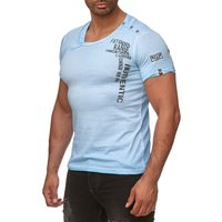 Tazzio Fashion Herren T-Shirts Türkis