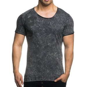 Tazzio Fashion Herren T-Shirts Anthrazit 001