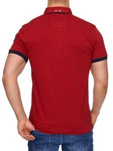 Tazzio Fashion Herren Poloshirts Bordo – Bild 5