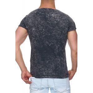 Tazzio Fashion Herren T-Shirts Anthrazit – Bild 3