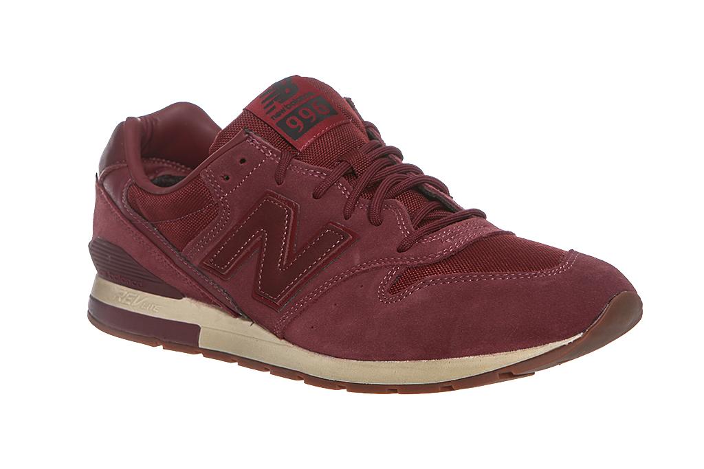 Details zu New Balance 996 Herren Echtleder Sneaker Classic Sportschuhe  Turnschuhe Rot