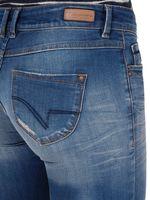 Timezone Damen Jeans Slim Silva Blau – Bild 4