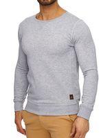 Tazzio Herren Sweatshirt Grau  001