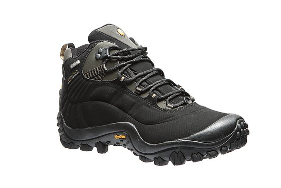 Merrell Chameleon Thermo 6 S Waterproof Mens Genuine Leather Boots Black