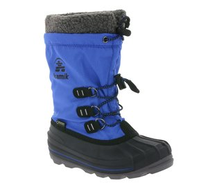 kamik wasserdichte GORE-TEX Kinder-Winter-Boots Blau