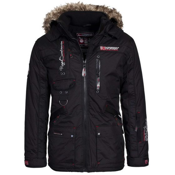 GEOGRAPHICAL NORWAY Outdoorjacke Herren Winterjacke Schwarz