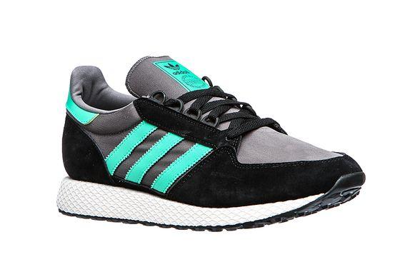 adidas Originals Herren Sneaker Forest Grove Schwarz Schuhe