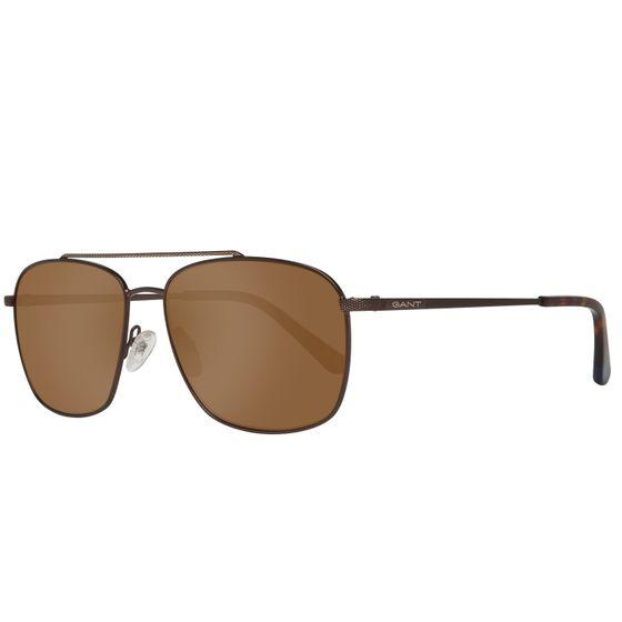 GANT Herren Sonnenbrille Oval Braun